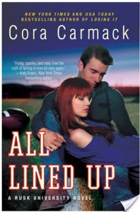 Review: All Lined Up – Cora Carmack