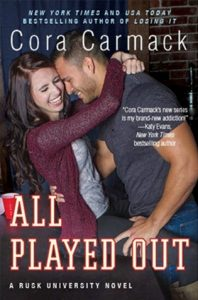 Review: All Played Out – Cora Carmack