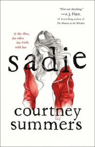 Blog Tour – Sadie by Courtney Summers