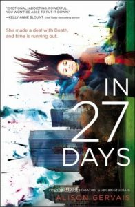 Review: In 27 Days-Alison Gervais