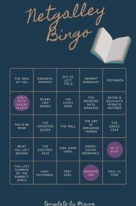 Netgalley Bingo – January Update