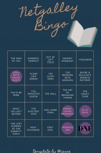 Netgalley Bingo – FebruaryUpdate