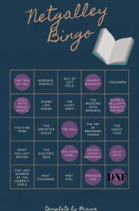 Netgalley Bingo – March Update