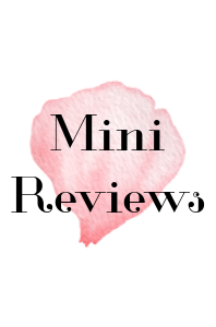 Mini Reviews #8 – Netgalley Mini Reviews 2.0