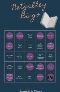 Netgalley Bingo – April Update