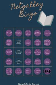 Netgalley Bingo – July Update